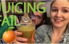 JUICING FAIL – How Not To Juice – A day with HJ #3